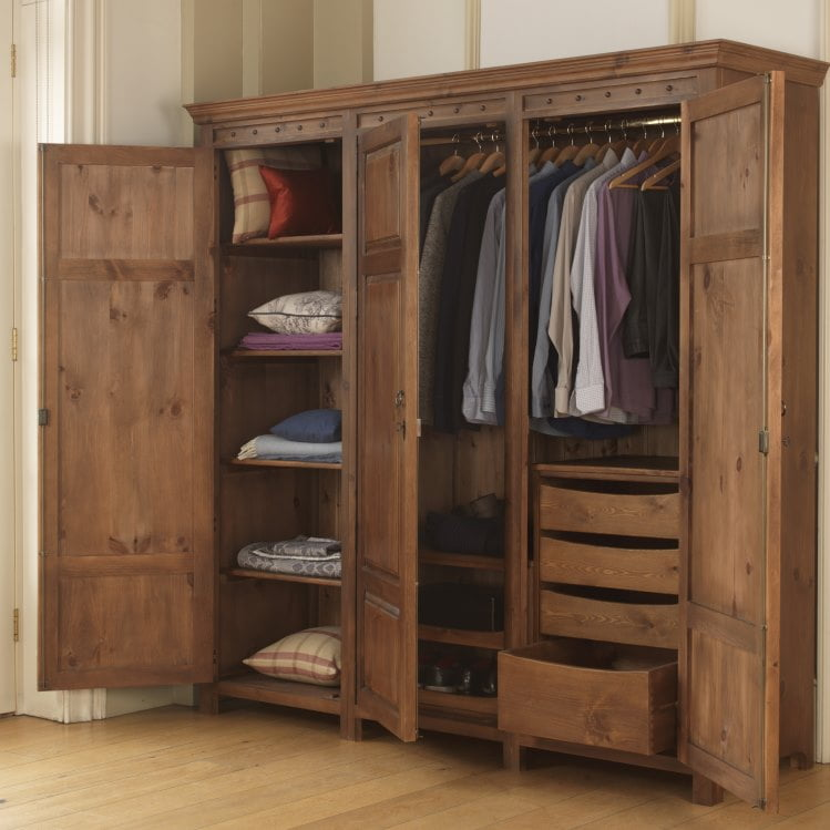 Designing your perfect wardrobe configuration revival beds for Inside wardrobe storage