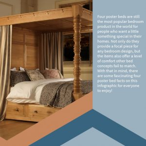 Info-graph Facts about Four Poster Beds