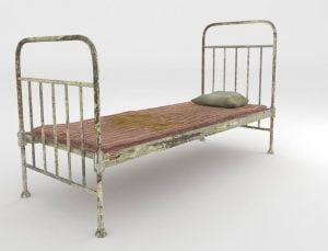 Old Metal Squeaking Bed