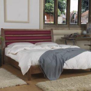 Modern Solid Wood Bed Frame