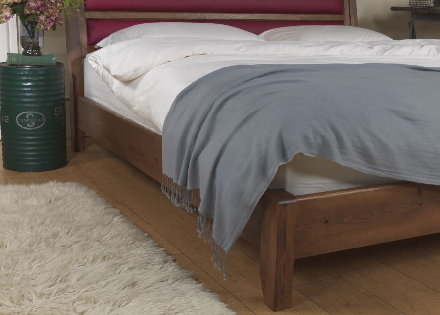 Modern Solid Wooden Bed Frame