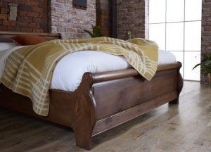 Loft Sleigh Bed Footboard Detail