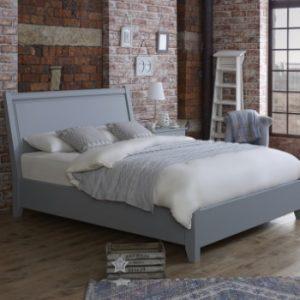 Handmade Painted Metropolitan Wooden Bed Frame