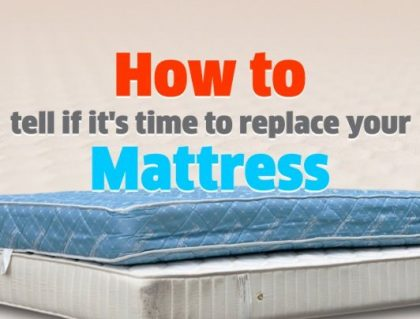 How to tell if its time to replace your mattress