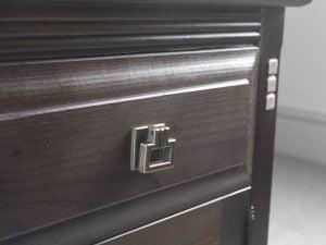 Mackintosh Bedside Cabinet Detail