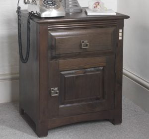 Solid Wood Mackintosh Bedside Cabinet