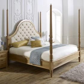 Solid Oak Pencil Bed