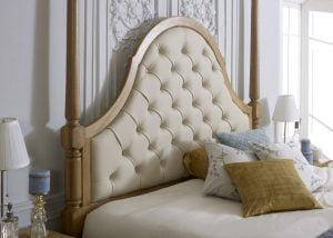 Colonial Bed Headboard Detail