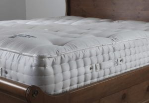 Luxury Pocket Sprung Mattress Close Up Detail