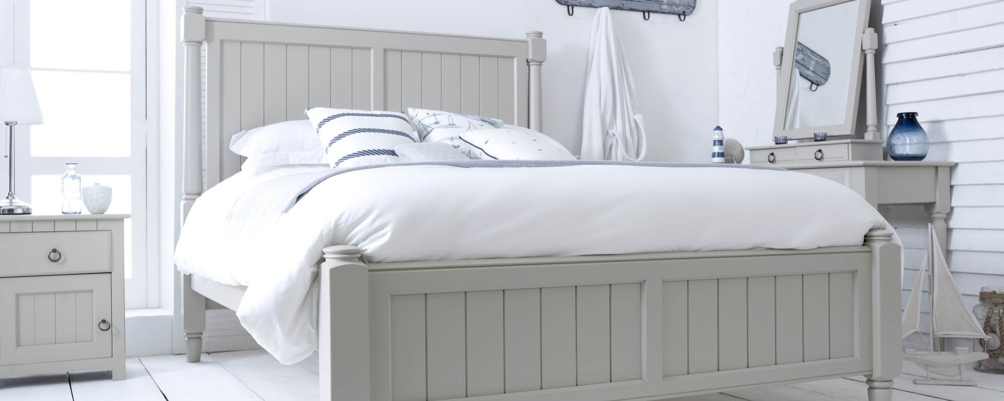 Painted Wooden Beds And Painted Bed Frames Revival Beds
