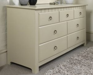 Painted 7 Drawer Chest