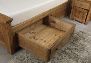 Solid Wood Storage Drawer