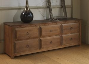 Solid Wood Linen Chest