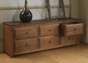 Linen Chest with 6 Drawers