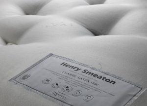 Henry Smeaton Classic Latex Mattress Label