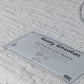 Memory Foam Mattress Label Detail