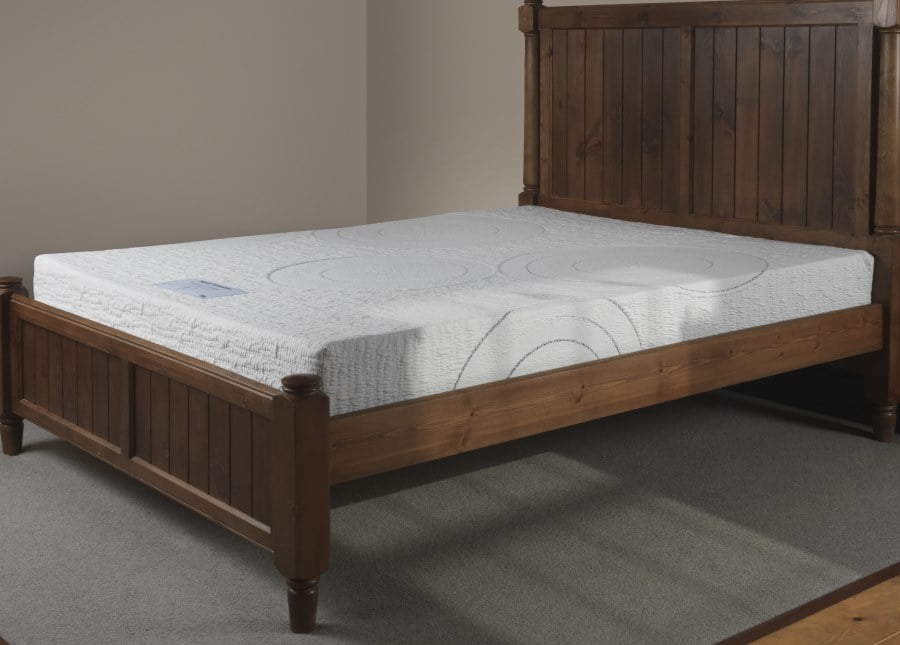c26070c37da Next Generation Memory Foam Mattress on Wooden Bed