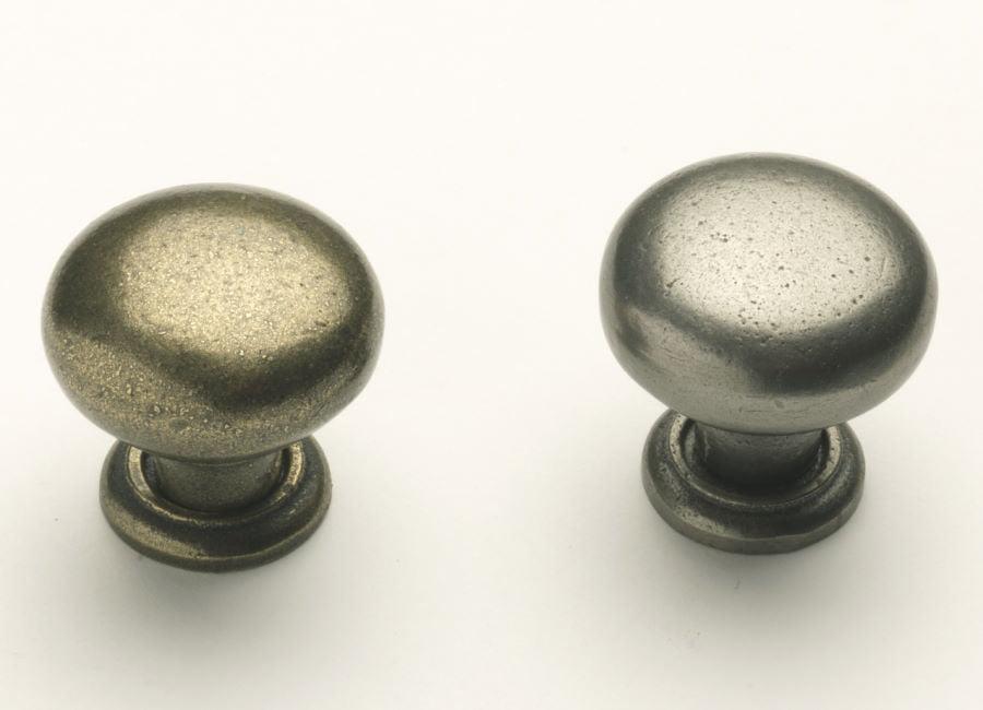 Silver & Gold Iron Knobs