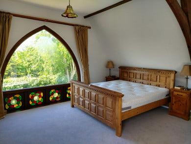 Super King-size Handmade Wooden Bed