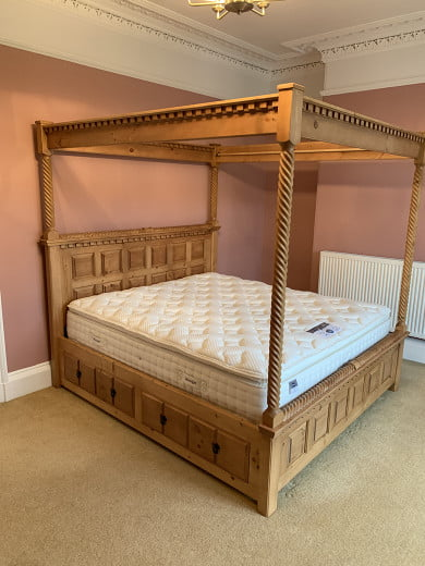 Traditional Handmade Four Poster Bed